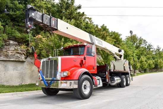 2009 Peterbilt 365 6x4 National NC9125 Boom Truck
