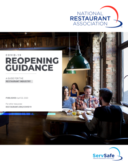 National Restaurant Association Reopen Guide