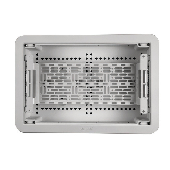 """9"""" Dual-Purpose In-Wall Enclosure with Elevated Mounting Plate"""