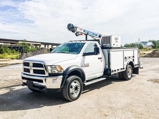 Load King Voyager 1r (HC7) ServiceTruck+Crane on 2019 Dodge Ram 5500 4x4