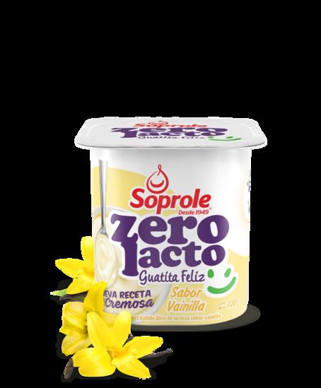 Soprole Zerolacto Yoghurt Batido sabor Vainilla