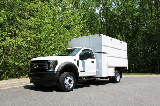 2020 Ford F550 4x4 1166 Chip Truck Chip Truck