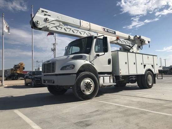 2015 Freightliner M2106 4x4 Terex HRX55 Bucket Truck
