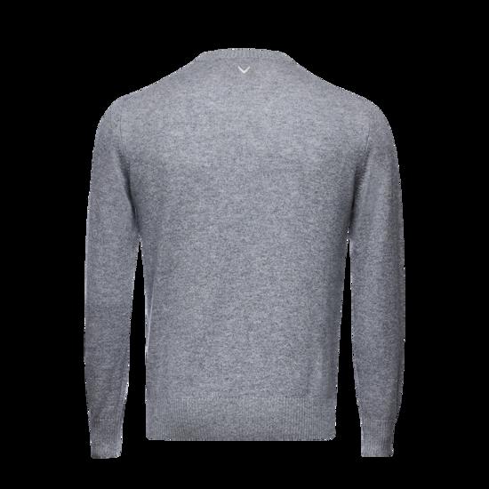 피셔맨 캐시미어 남성 라운드 스웨터