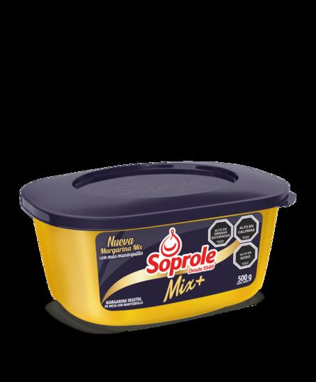 Soprole Margarina Mix+ 30% mantequilla 500g