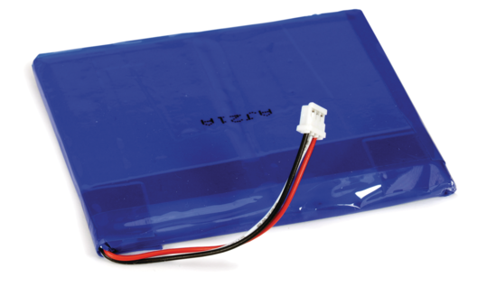 Replacement Battery, Rechargeable LiPoly 3.7V 2500mAh