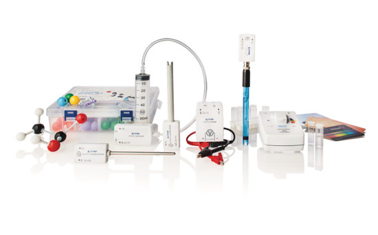 Essential Chemistry Standard Equipment Kit in profile