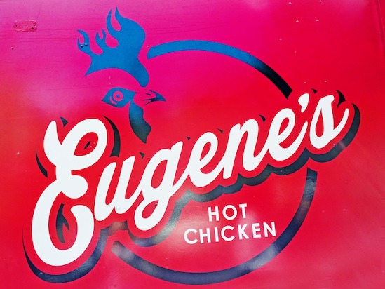 Eugene's Hot Chicken is cluckin' delicious!