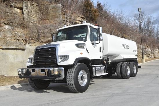2012 Freightliner 114SD 6x4 McLellan 4000 + Water Cannon Water Truck