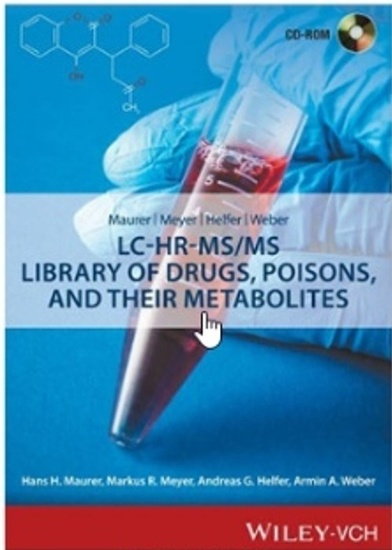 Wiley MMHW LC-HR-MS/MS Library of Drugs, Poisons and Their Metabolites e-License product photo Front View L