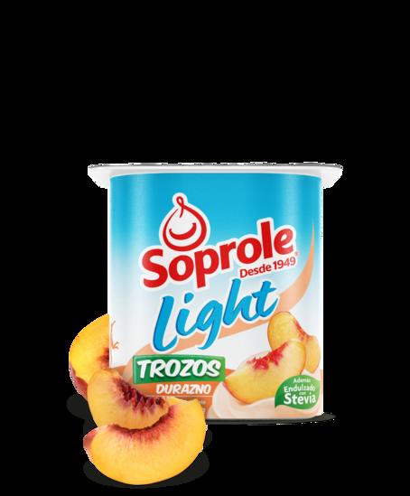 Soprole Yoghurt Light Trozos Durazno