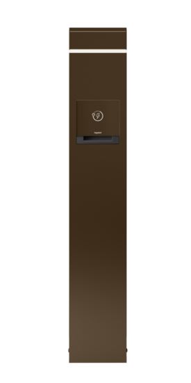 Charging Station with Accent Light 2-Gang, 1 Duplex GFCI Receptacle and 1 4-Port USB Outlet
