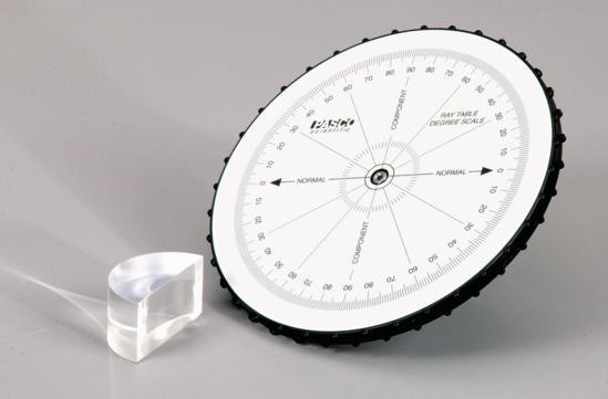 Basic Optics Ray Table
