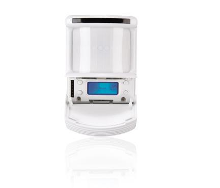 Digital PIR Corner Mount Sensor, high density lens