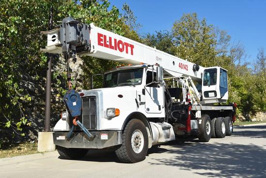 2014 Peterbilt 365 8x4 Elliott 40142R Boom Truck