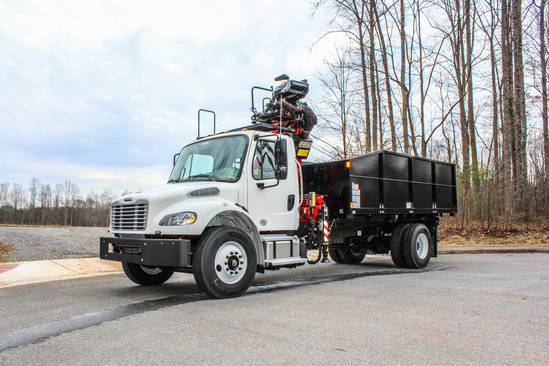 FASSI F145AZ.0.22 Forestry on 2019 Freightliner M2106 4x2
