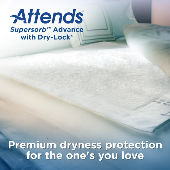 Attends Supersorb Advanced Premium Underpads