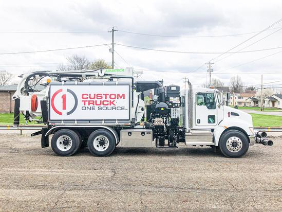 2020 Kenworth T370 6x4 Aquatech B10-Utility Hydrovac Truck
