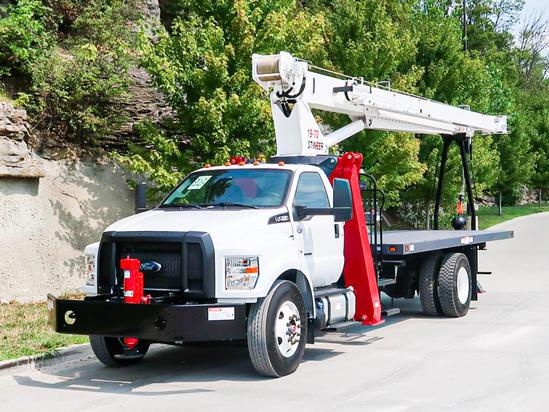 2019 Ford F750 4x2 Load King Stinger 19-70 Boom Truck