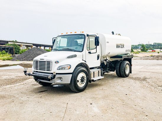 2020 Freightliner M2106 4x2 Load King 2500 Gal Kit Water Truck