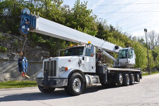 2014 Peterbilt 365 10x4 Manitex 50128S Boom Truck