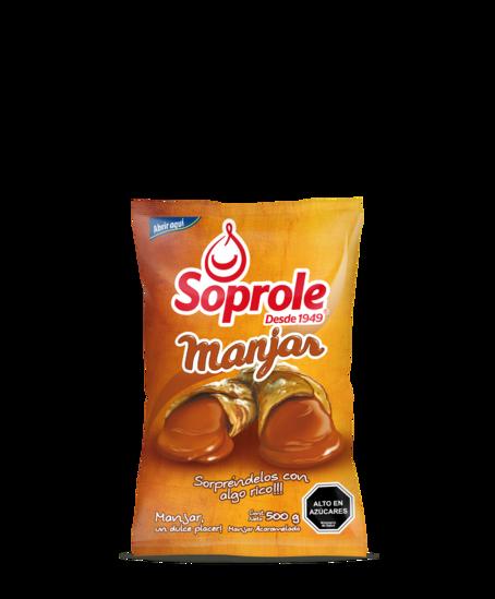 Soprole Manjar bolsa 500g