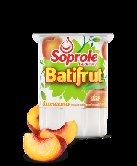 Soprole Yoghurt Batifrut clásico sabor durazno 165