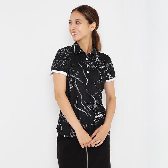 CALLAWAY RED LABEL  ホースプリントカノコ半袖シャツ (WOMENS)