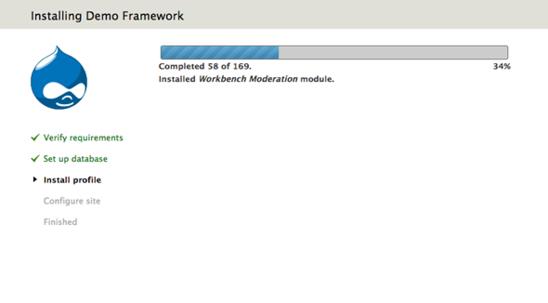 Installing Demo Framework