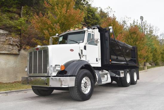 2016 Peterbilt 365 6x4 Davis Dump Body Dump Truck