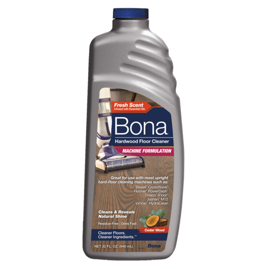 Bona® Hardwood Floor Cleaner - Hard-Floor Cleaning Machine Formulation 32oz