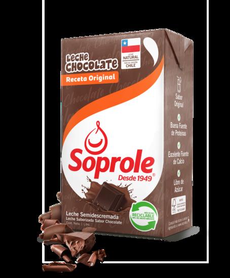 Soprole Leche Chocolate Receta Original 1L