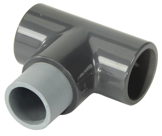T-Adapter and Hose -- Air Track