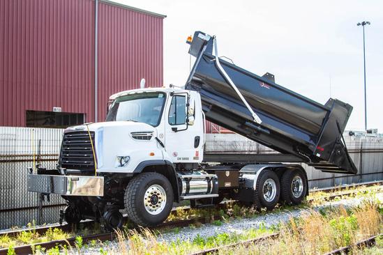 2021 Freightliner 108SD 6x4 Rotary Dump Rail - Heavy Duty
