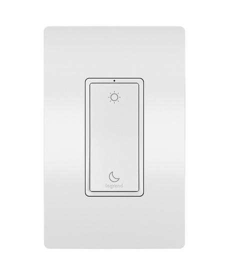 Sleep/Wake Wireless Smart Switch with Netatmo, White