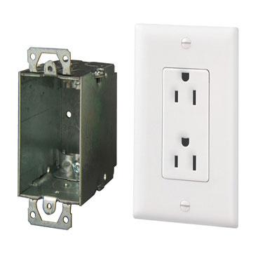Surge Protected Duplex Power Kit