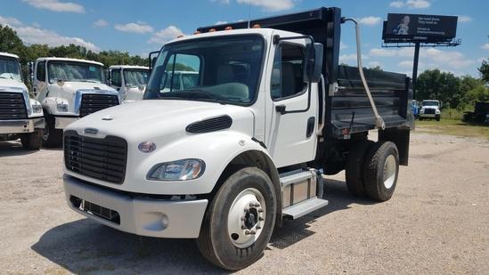 2020 Freightliner M2106 4x2 OX BODIES 10' Stockyard Dump Truck