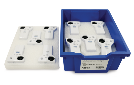 Wireless Weather Sensor Storage Tray