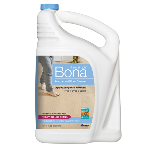 Bona Free & Simple®  Hardwood Floor Cleaner Refill (4.73L/160 oz)