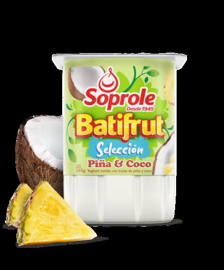 Soprole Yoghurt Batifrut Selección Piña & Coco 165