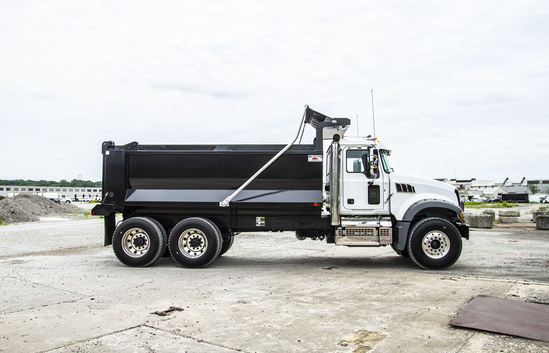 2020 Mack GU713/64FR 6x4 OX BODIES 16' Stampede Dump Truck