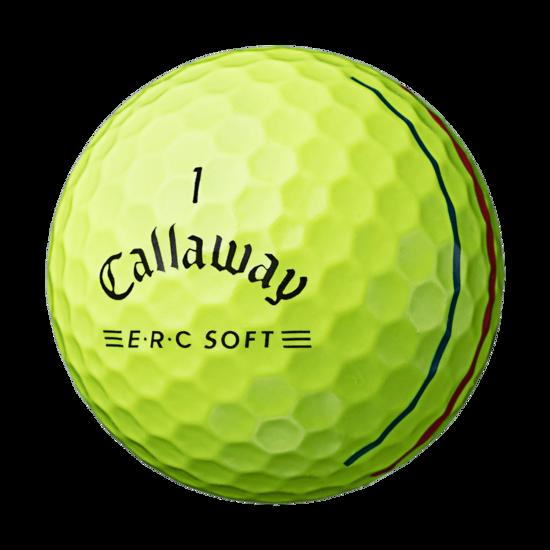 E・R・C SOFT イエロー ボール