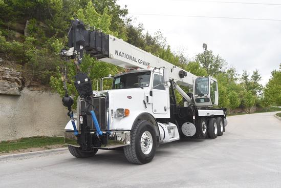 2011 Peterbilt 365 8x4 National NBT45127 Boom Truck