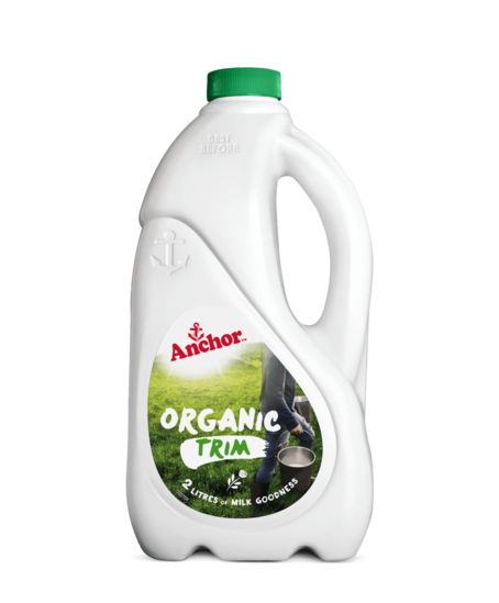 Anchor Organic Trim Milk Bottle 2L bottle