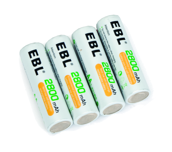 Rechargeable AA Batteries (Set of 4)