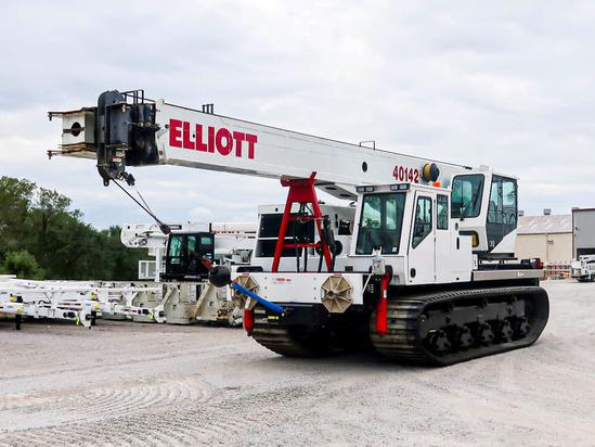 Elliott 40142R Track Crane on 2020 CTOS CTrac8000 (MST4500VDL GK) Track
