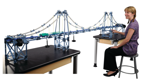 Large Structures Set - Suspension Bridge