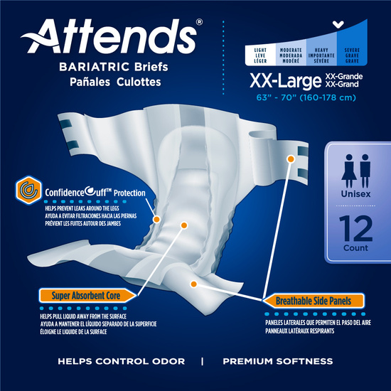 Attends Bariatric Briefs