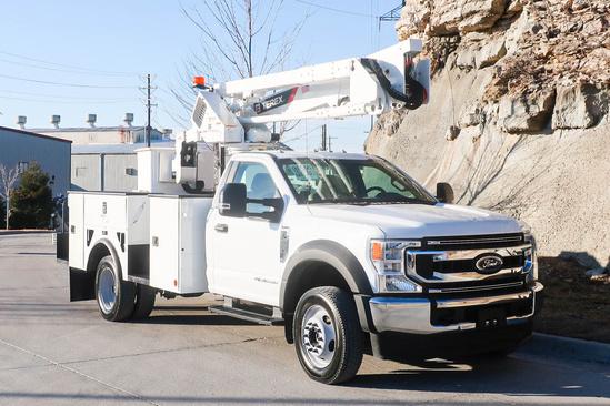 2020 Ford F550 4x4 Terex LT40 Bucket Truck