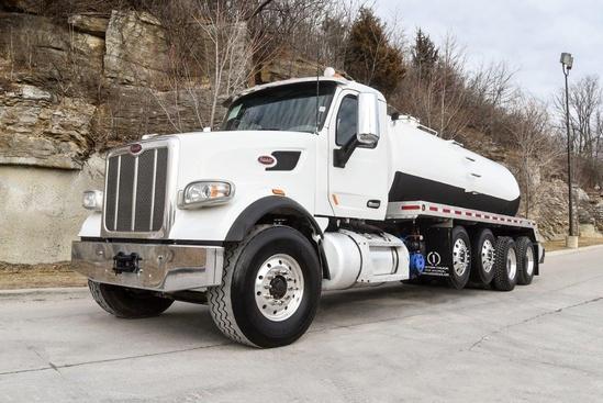 2019 Peterbilt 567 10x4 Imperial Industries TMV4800 Vacuum Truck